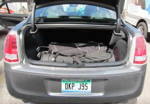 Chrysler 300 Trunk Dimensions Five Cars For Golf Foursomes