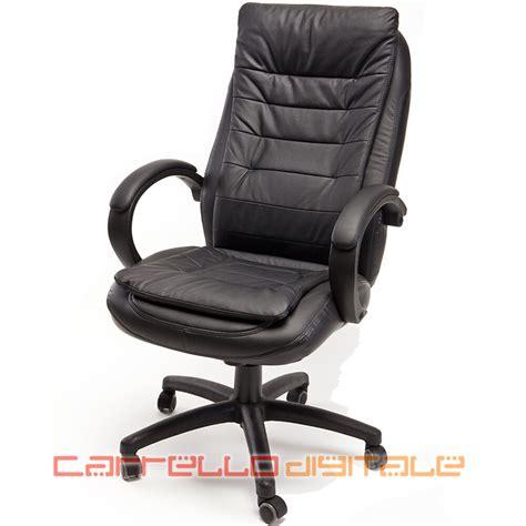 sedia studio sedia poltrona presidenziale direzionale ergonomica per