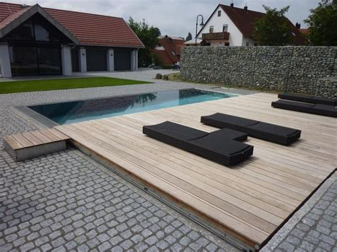 quot floating quot wood deck garden ideas