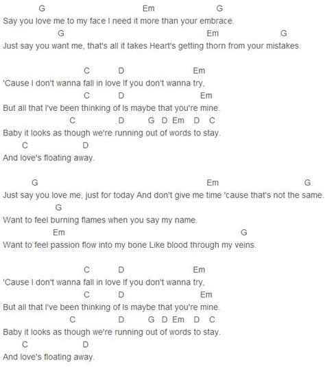 ware lyrics ware say you me chords ware