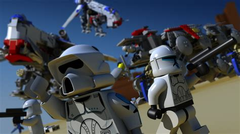 Lego Wars Starwars Brick lego wars legos bricks childhood wallpaper