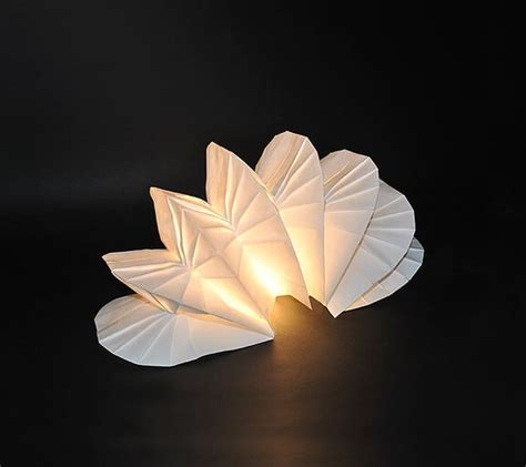 diy lighting  original origami design  jiangmei wu