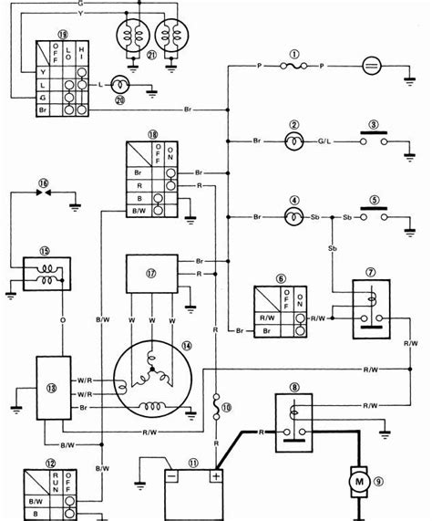 yamaha moto 4 carburetor diagram wiring diagrams wiring