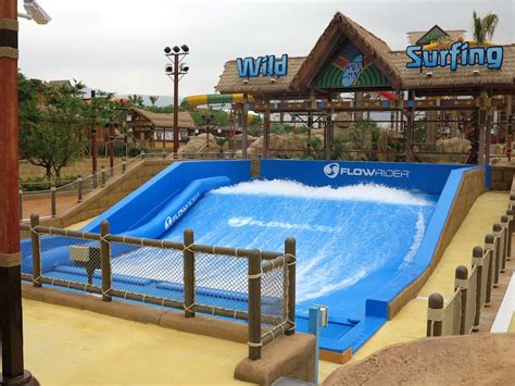 backyard flowrider flowrider at lotte waterpark busan korea water park slides pools pinterest
