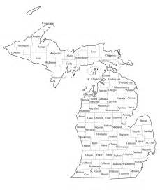 map with county lines michigan map with county lines michigan map