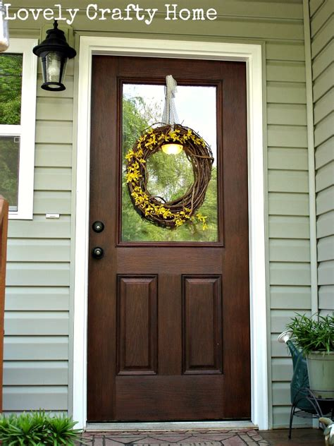 How To Stain A Fiberglass Front Door Gel Stain Fiberglass Door Flynn Landry General Finishes Java Gel Is Available In