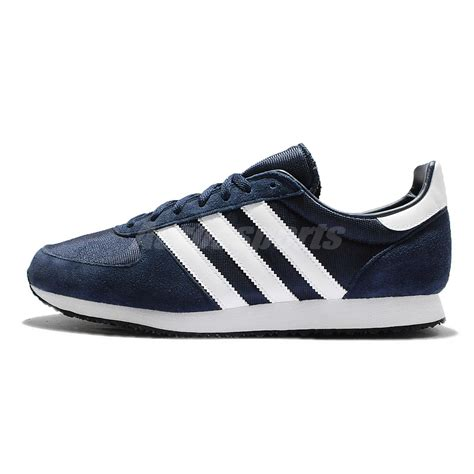 Suplier Adidas Cloudfoam Racer Navy White Original adidas originals zx racer navy white mens vintage running shoes s79201