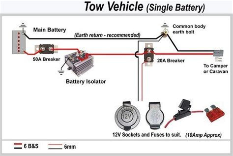 wiring diagram charging a trailer battery 28 images