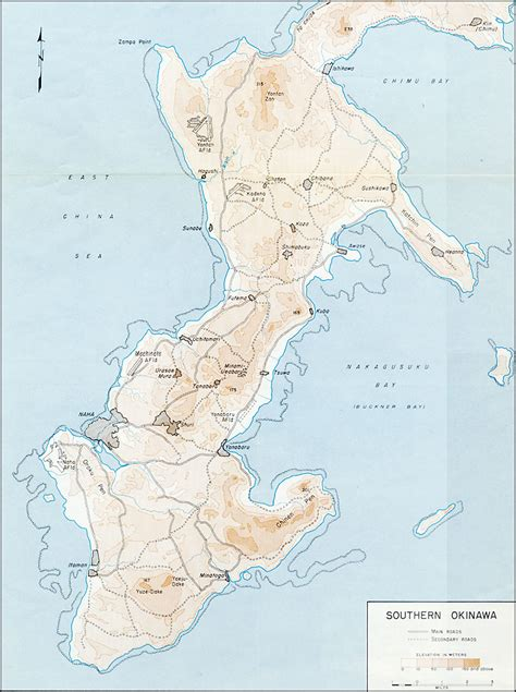 okinawa map map of okinawa during wwii pictures to pin on pinsdaddy