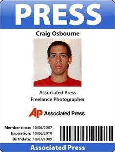 media id card templates 1000 images about press credentials on