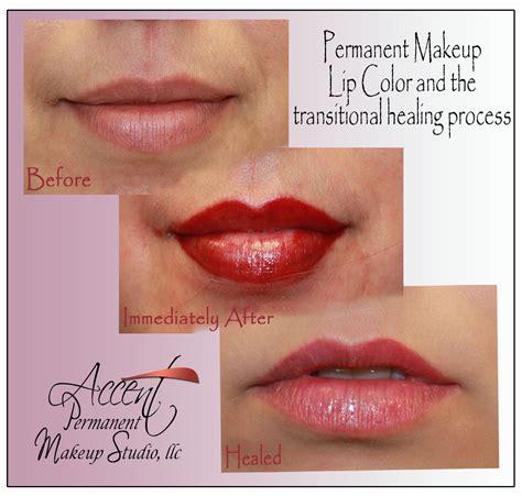 tattoo lips healing permanent makeup lips