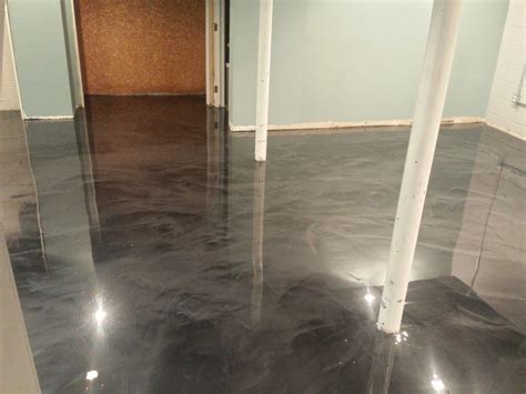 painting concrete basement floor basement epoxy floors in holmdel nj epoxy coating