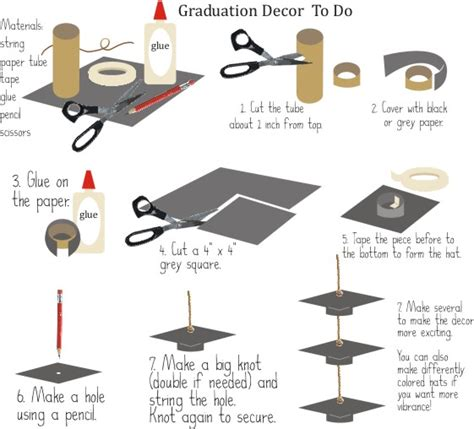 How To Make A Paper Graduation Hat - crafts workshop