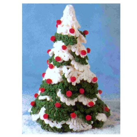 pattern for a christmas tree vintage crochet pattern christmas tree holiday decorations