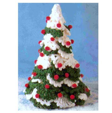 christmas tree pattern in dermatology vintage crochet pattern christmas tree holiday decorations