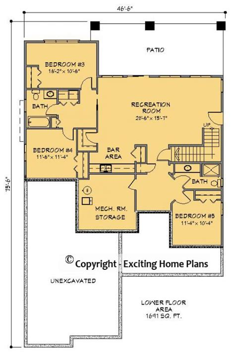 exciting house plans exciting summerhill house plan images hunting cabin floor