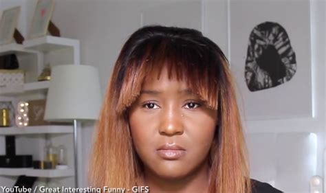 Woman instantly REGRETS her method of cutting fringe in funny video   Life   Life & Style