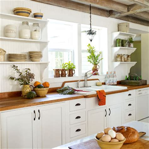 bright farmhouse kitchen redo after inspiring home spruce