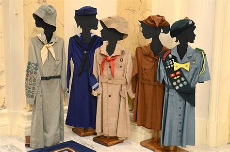 rheanna bellomo 100 years of girl scout uniforms boston com