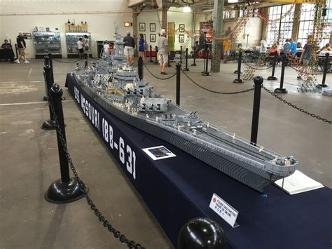 lego army boats uss missouri the world s largest lego wwii battleship