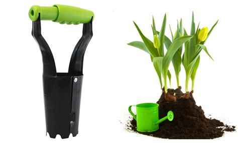 Automatic Bulb Planter by Bulbbuddy Loaded Flower Bulb Planter Groupon