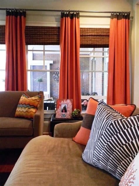 Orange Living Room Curtains Best 25 Orange Blinds Ideas On Orange Blinds Orange Kitchen Blinds And
