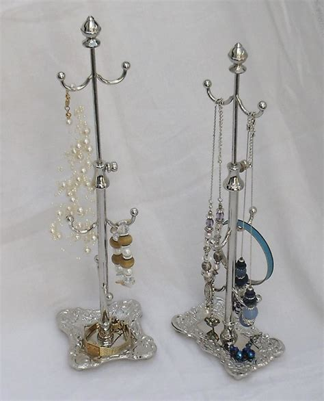 silver bell tree holder silver vintage style extendable jewellery tree stand holder gift ebay