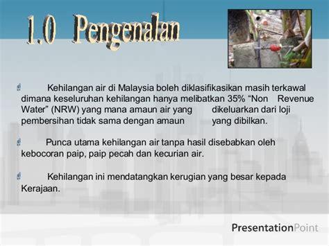 Air Di Malaysia kehilangan air di malaysia
