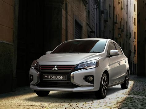 mitsubishi mirage unveiled  montreal  slight