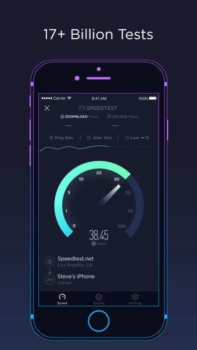 test mobile speed speedtest by ookla app report on mobile