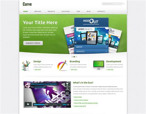free css responsive templates templates curve free responsive css template