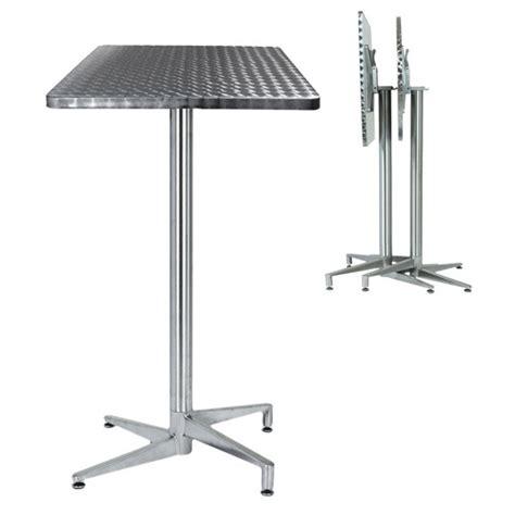 table terrasse inox pliante tra 206c one mobilier
