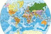 Mapa Mundi  Del Mundo