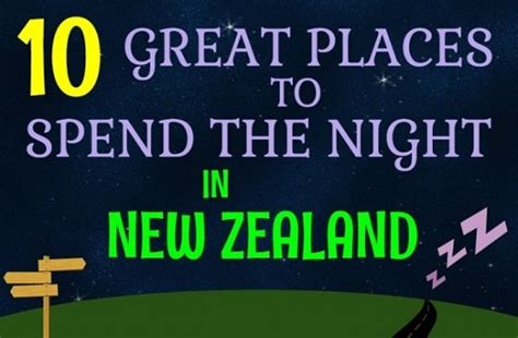 A Place To Spend My Nights Lyrics Where To Take A Cervan In New Zealand Archives Not Australia