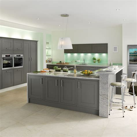 Kitchen Flooring Designs studio grey kitchen style amp range magnet trade