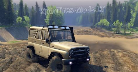 uaz hunter 2014 cars spintires mods download