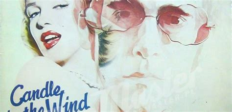 elton john candle in the wind lyrics the story of candle in the wind by elton john smooth
