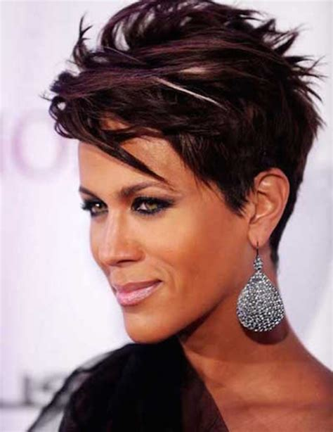 short funky hairstyles   love