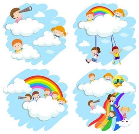 libro the cloud childs play criancas brincando vetores e fotos baixar gratis