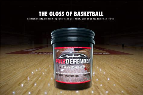 COURTSPORTS Products   Polydefender Wood Finish Gloss