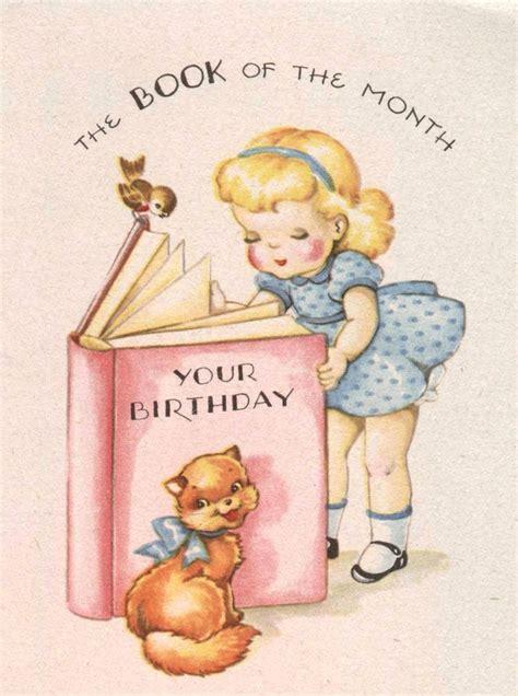 Vintage Gift Card - 514 best birthday children s vintage cards and illustrations images on pinterest