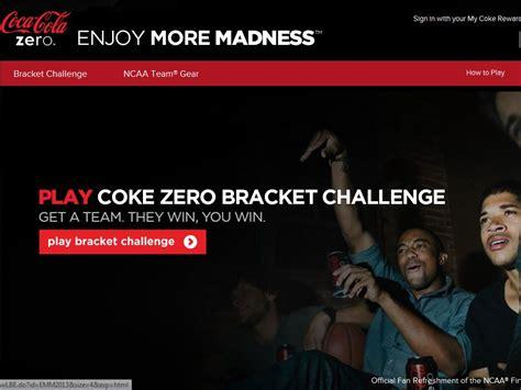 Coke Zero Sweepstakes - coke zero bracket challenge sweepstakes