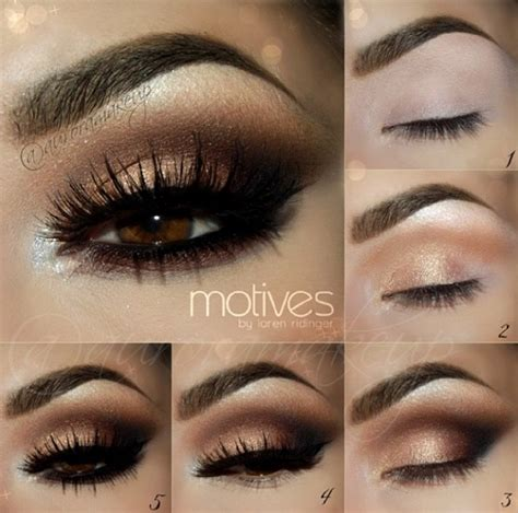 10 Steps For Makeup Look by 10 Easy Step By Step Smokey Eye Makeup Tutorials