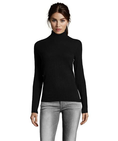 And Black Sweater black sweater turtleneck womens sweater vest