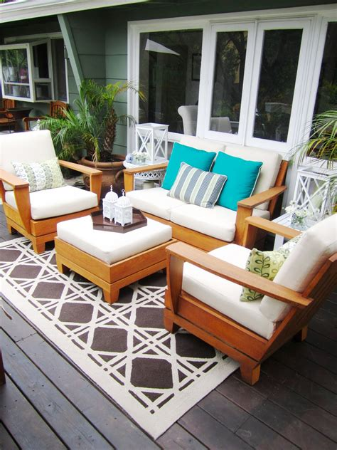 deck furniture ideas patio furniture cushions ideas 15899