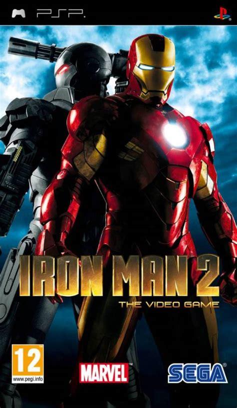 theme psp iron man iron man 2 usa iso