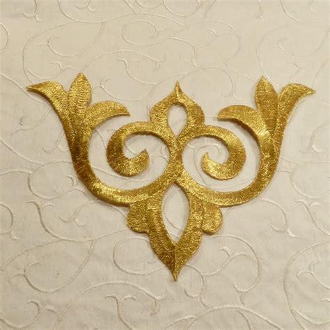 gold applique gold and silver metallic appliques 156 valorose tutus