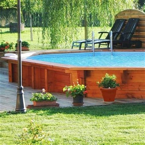 Filtre A Piscine 4239 by Bilbao Wooden Pool At Discount Price