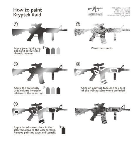 Camo Lackieren by How To Paint Kryptek Raid Guns Paint Pinterest