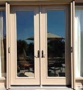 Sliding French Patio Doors With Screens by Retractable Screens